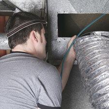HVAC Indoor Worker